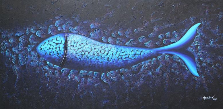 Contemporary fish series 6