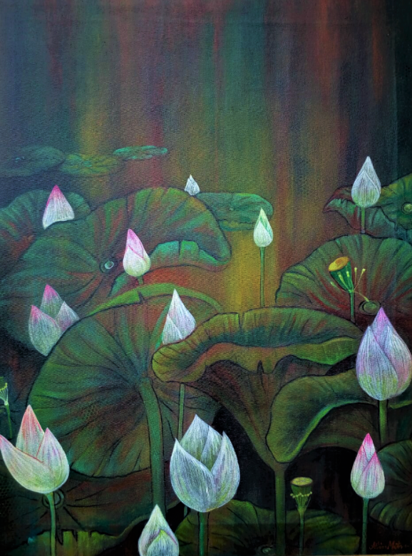 The lotus pond 13