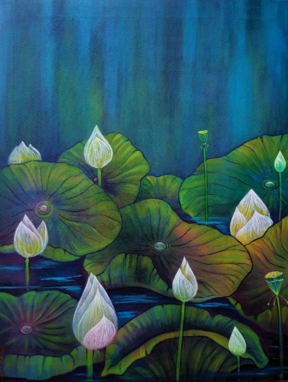 The lotus pond 14