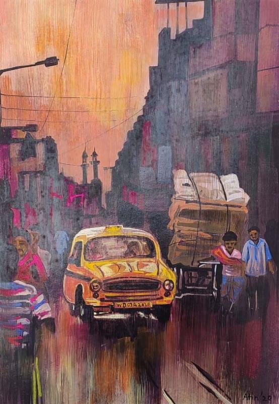 Kolkata  city scape 4