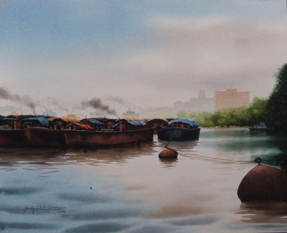 boat in babughat