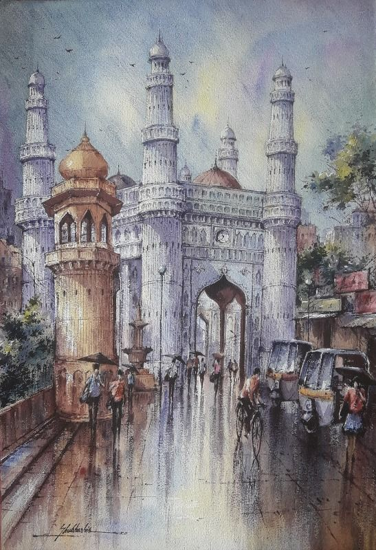 The charminar in Hyderabad 3