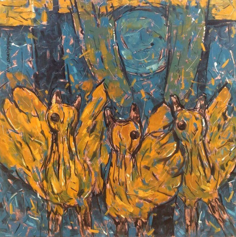 Abstract bird s 1