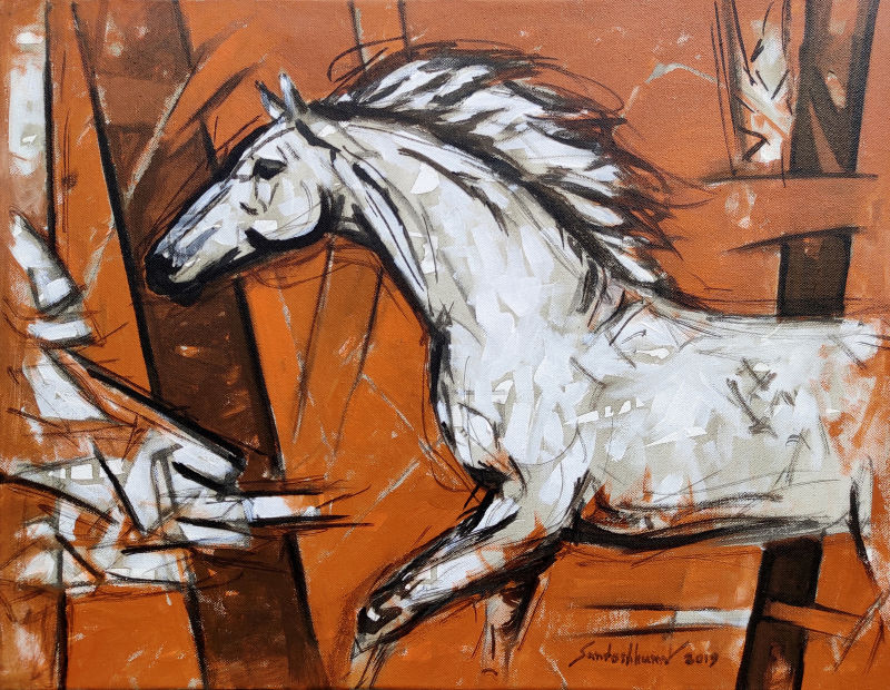 Abstract horse s 2