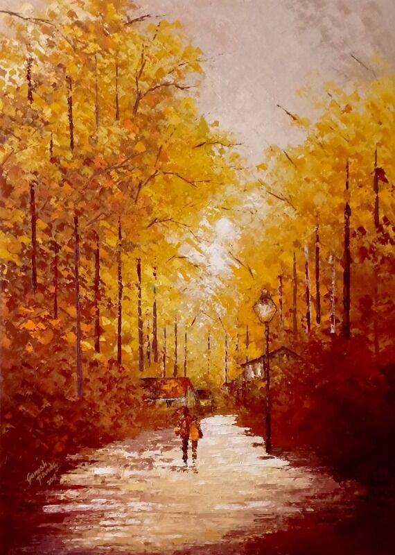 Walking toward sunshine