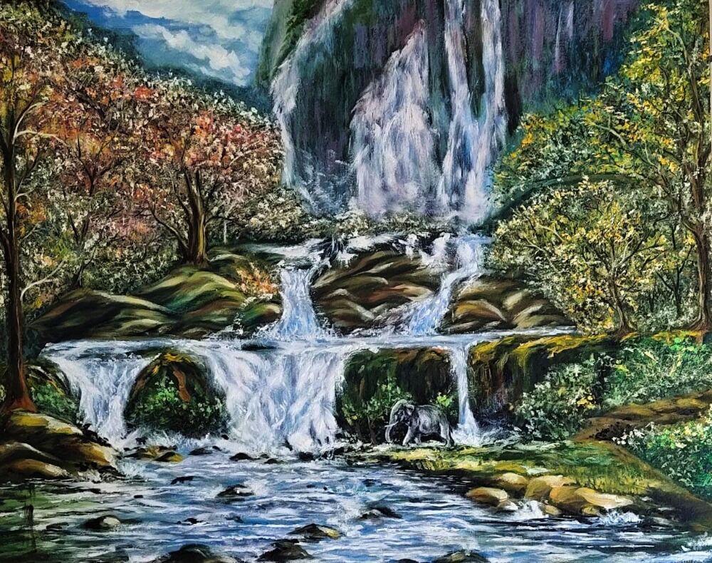 Waterfall series 2
