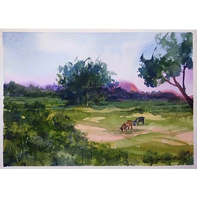 Rural India Painting 3