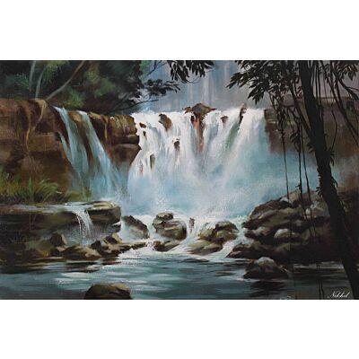 Enchanting Beauty of waterfall