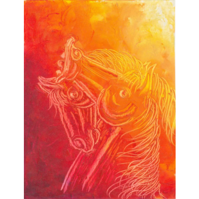 Contemporary Horse painting 2