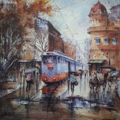 Tram in Kolkata-2