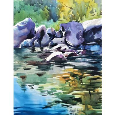 water color nature view 5