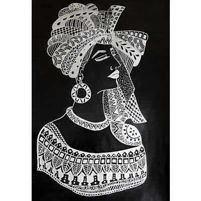Zentangle Art Painting