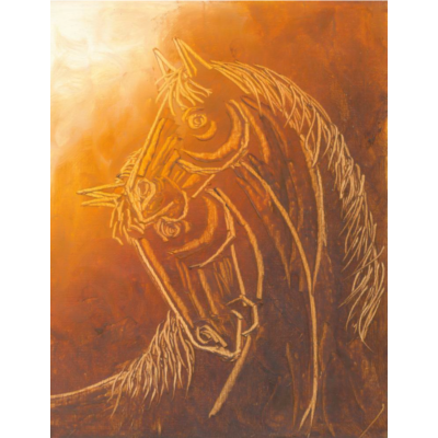 Contemporary Horse painting 5