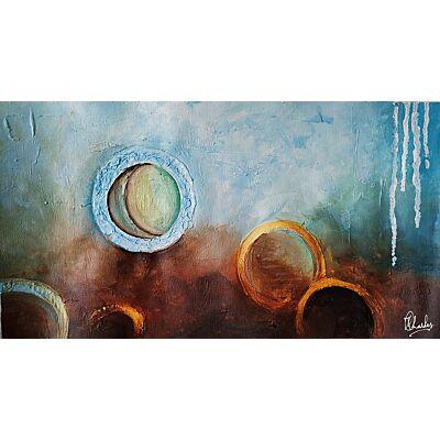 Abstract Circles of Life