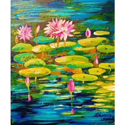 abstract lotus 001