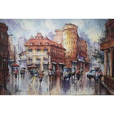 cityscape watercolor series 5