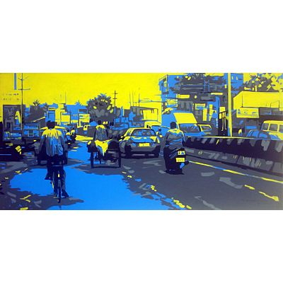 City View Pop Art 4