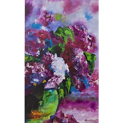 floral abstract 98