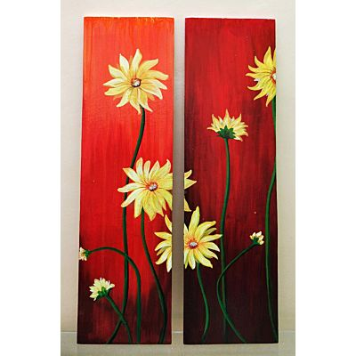 Floral Canvas Decor Frames