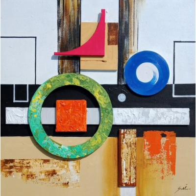 Geometric Abstract Art 3