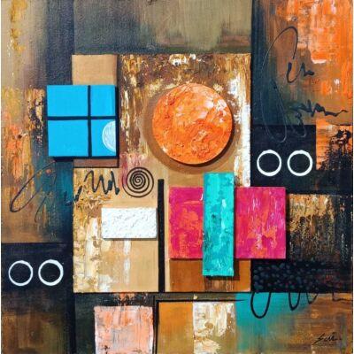 Geometric Abstract Art 9