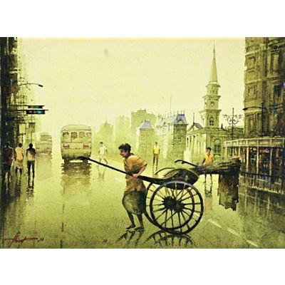 An early morning in Kolkata 3