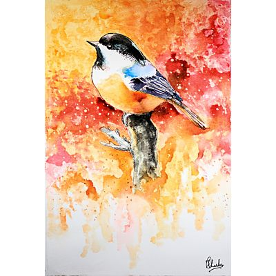 Beautiful Bird Painting