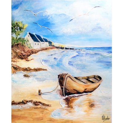 Boat on Seashore