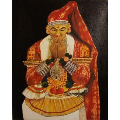 kathakali female dancer
