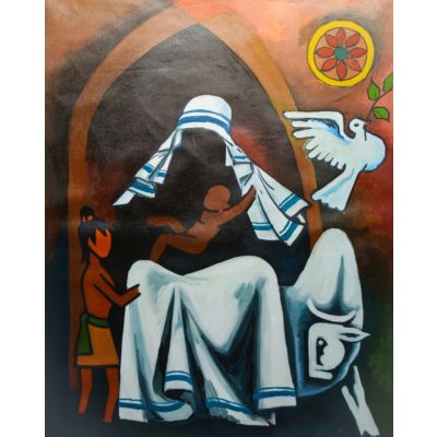 Canvas Painting MOTHER TERESA