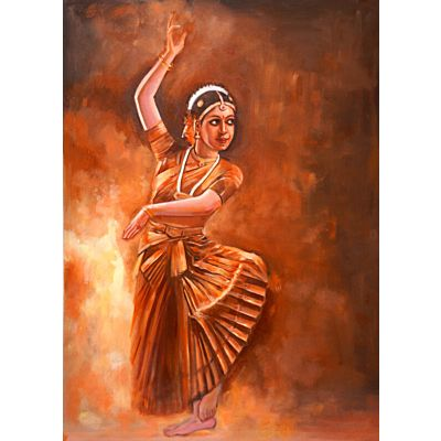 Bharathanatyam Dancer