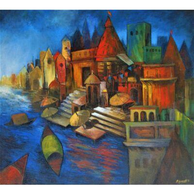 banaras abstraction 14