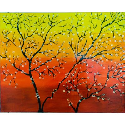 Blossoming trees-1