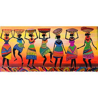 Happy Tribal Woman
