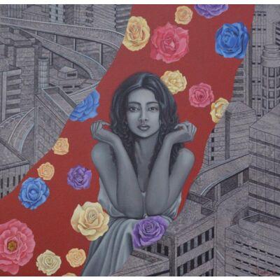 Urban Rose Girl