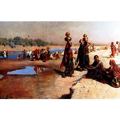 village ghat scene