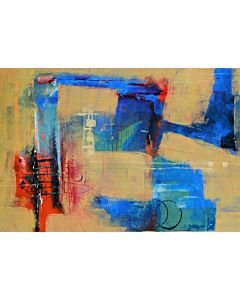 abstract art,abstract art is just a way of complimenting a well-balanced décor art
