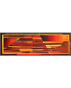 abstract art is just a way of complimenting a well-balanced décor