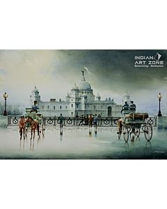 scenery Painting,High Quality Indian Painting for a mesmerizing visual experience and to create the look and feel of the original nature right at your walls, hotel painting, corporate painting, office painting