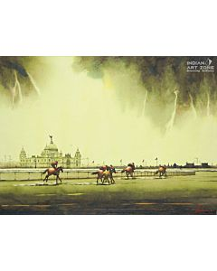 scenery Painting,High Quality Indian Painting for a mesmerizing visual experience and to create the look and feel of the original nature right at your walls