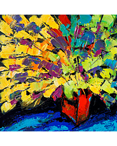 flower painting,Flower painting for your living room that generates sweet emotions