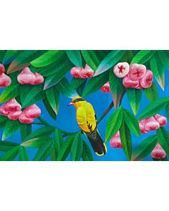 Stunning nature art painting will suitably fit your living room!