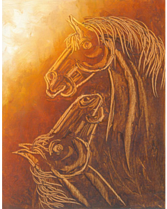 Contemporary Horse painting 4
