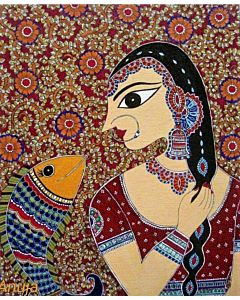 Beautiful Indian art for living room