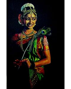 indian art,Portrait Painting that will take centre stage of your space
