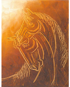 Contemporary Horse painting 11