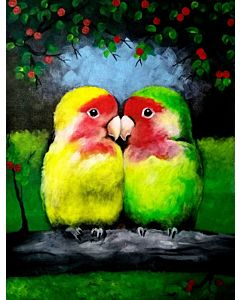 100% Original, Hand Painted wall paintings for your Living room or bed room wall