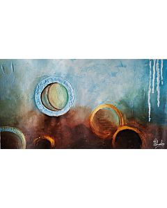 Abstract Circles of Life