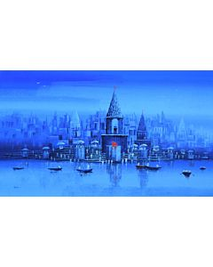 Indian Art,landscape art,landscape painting that transform living room, hotel painting, corporate painting, office painting