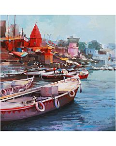 Indian  Painting,realistic Painting that will take centre stage of your space